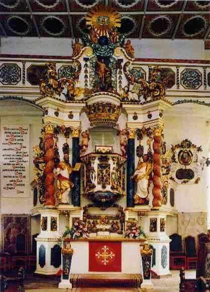 Altar der St. Aegidien Kirche