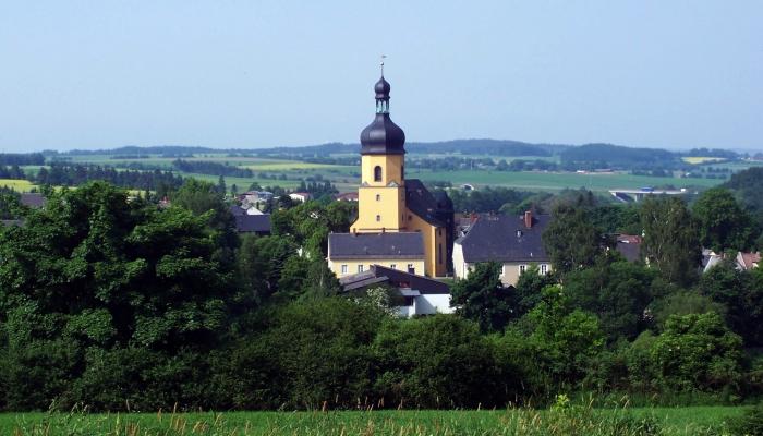 Internetseite der Evangelische Kirchengemeinde Regnitzlosau